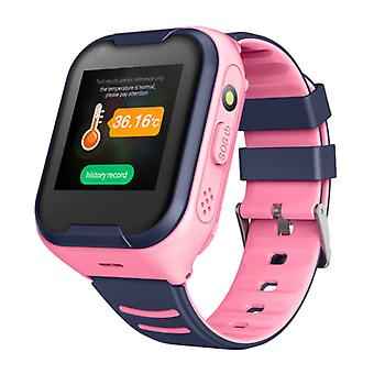 Lemfo Smartwatch for Kids with GPS Tracker Smartband Smartphone Watch IPS iOS Android Pink