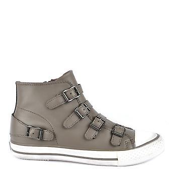Ash Footwear Venus Perkish Leather Buckle Trainers