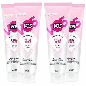 VO5 Frizz Free Cream for Flawless Hair, 125ml, Pack of 4