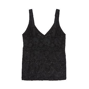 Cosabella Never Say Never Curvy Women's Lace Spaghetti Vest Top