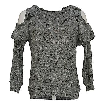DG2 by Diane Gilman Women's Sweater Gray Crew Neck Pullover Rayon 703-137