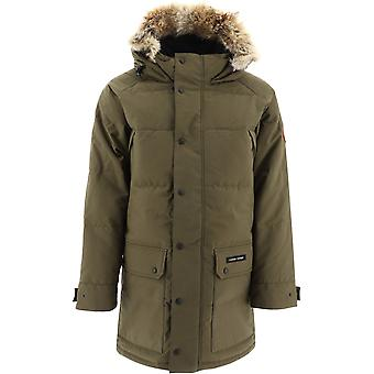 Canada Goose 2580m49 Men's Green Polyester Down Jacket