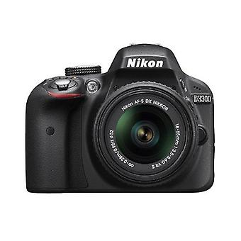 Nikon d3300 24.2 mp cmos digital slr with auto focus-s dx nikkor 18-55mm f/3.... ps99315
