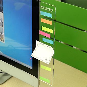 1pc Message Memo Board, Pc Screen Computer Monitors Message Board