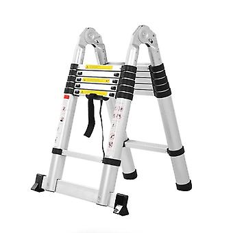 Multipurpose Fire Use Escape  Collapsible Aluminum Alloy Upright Ladder