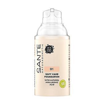 Soft cream makeup 01 Warm Linen 1,8 g