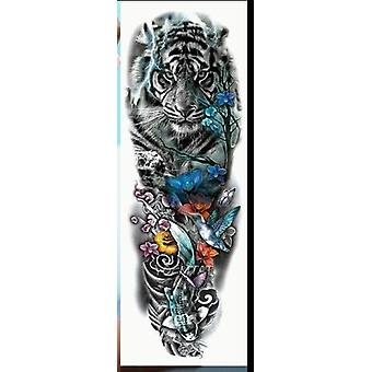 Large Arm Sleeve Tattoo-waterproof And Temporary Sticker