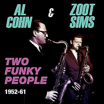 Al Cohn & Zoot Sims - Al Cohn & Zoot Sims-Two Funky People 1 [CD] USA import