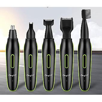5 In 1-usb Rechargeable, Electric Nose, Eyebrow, Ear Trimmer