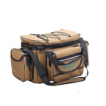 防水釣り袋、大容量多機能ショルダーバッグ