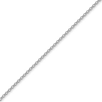 Jewelco London Sterling sølv 2,5 gauge Micro Belcher Chain