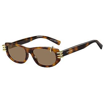 جيفنشي GV7176/S 086/70 هافانا / براون النظارات الشمسية