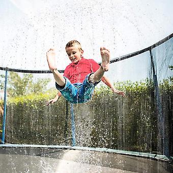 夏の水スプリンクラートランポリン屋外ガーデンウォーターゲームおもちゃ