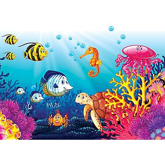 Fondo de pantalla Mural Underwater World (631095