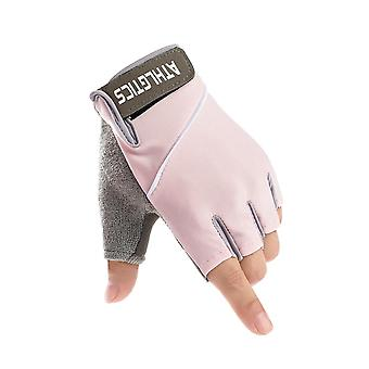 Silicone Cycling Anti-slip, Men- Women Half Finger Gloves