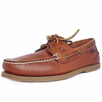 Chatham Deck Ii G2 Men's Classic Boat Shoe In Chestnut