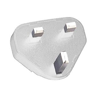 OEM BlackBerry Charger UK Adapter Clip - White