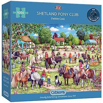 Gibsons 1000 Piece Shetland Pony Club Jigsaw Puzzle