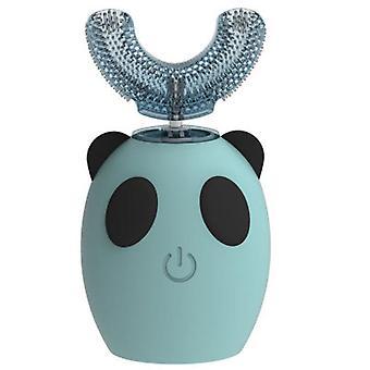 Дети Симпатичные Мультфильм U-образный электрический автоматическая зубная щетка