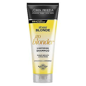 Förtydligande Shampoo Blondes Ren Blond John Frieda (250 ml)