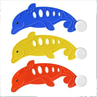 Children Hot Summer Shark Rocket Throwing Toy, Swimming Pool Diving Game, Dive