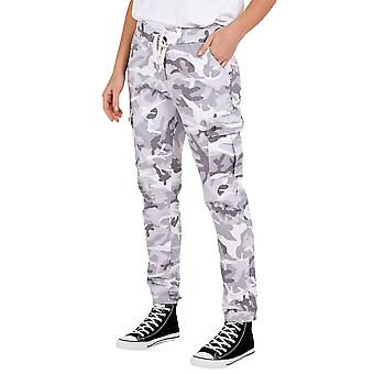 Magic Cargo Camouflage Trousers | Light Grey