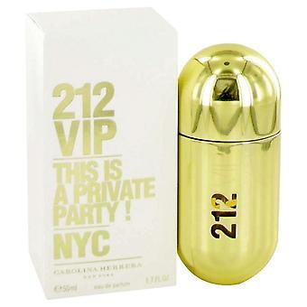 212 Vip Eau De Parfum Spray Carolina Herrera 1.7 oz Eau De Parfum Spray