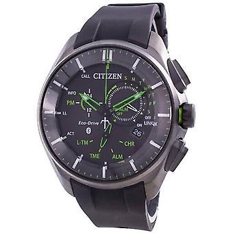 Citizen Super Titanium Bluetooth Eco-drive Bz1045-05e 100m Men's Watch