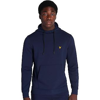 Lyle & Scott Mens Over The Head Fly Fleece Pullover Hoodie