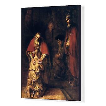 De terugkeer van de verloren zoon, c1668. Kunstenaar: Rembrandt Harmensz van Rijn. Afdrukken van vakcanvas. De.