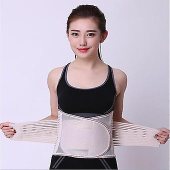 M l xl xxl breathable lumbar orthopedic corset women medical lower back support posture correction waist belt spine support belt