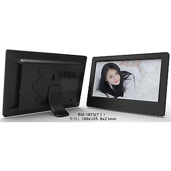 Hd Digital Photo Frame, Video Player, Frame With Music, Video Function