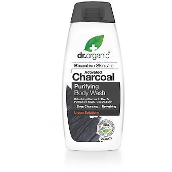 Dr. Organic Activated Charcoal Body Wash 250 ml