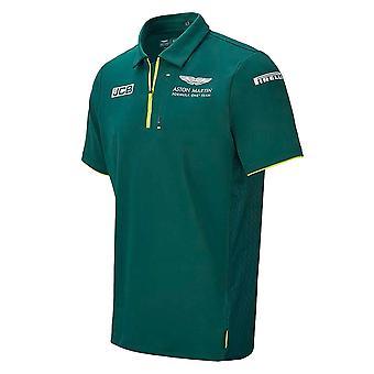 2021 Aston Martin F1 Official Team Polo (Green)