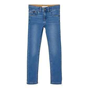 Namn-det Boys Jeans Pete Dnmtobos Medium Blue