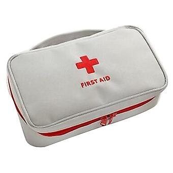 Portable emergency first kit storage bag