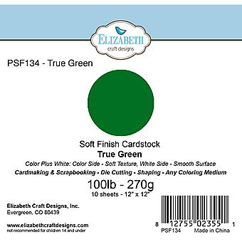 Elizabeth Craft Designs - Soft Finish Cardstock True Green