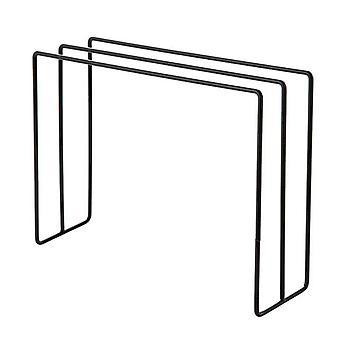 Compacte handdoekhanger - Zwart