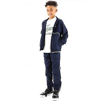 Lacoste Kids Navy Styled Tracksuit
