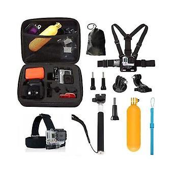 10 in1 Popruhy Příslušenství Kit pro GoPro Hero 5 4 Session 3 + 3 YI akční kamera