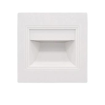 LED induction embedded corner step light(White)