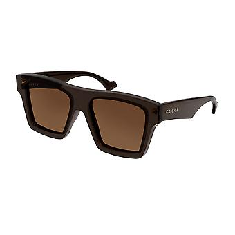 Gucci GG0962S 003 Brown/Brown Sunglasses