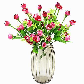 5pcs flor artificial xingx bud flor maceta flores secas falso regalo de flores para las mujeres