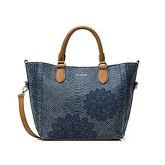 Desigual PU Hand Bag, Handbag. Woman, Blue, U(1)