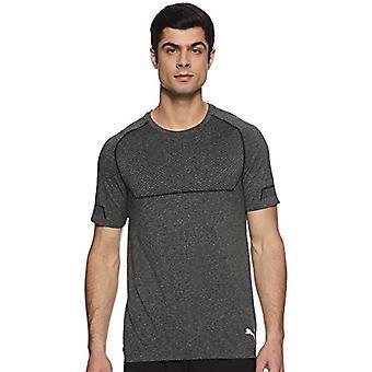 PUMA Energy Nahtlos, Herren T-Shirt, Schwarz Schwarz Heather, L