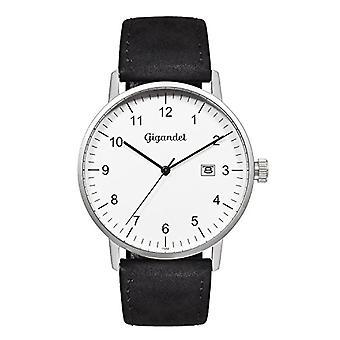 Gigandet Minimalism Men's Watch Analog Quartz Silver Black G26-001