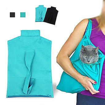 Pet Cat Udendørs Carrier skuldertaske pose tote