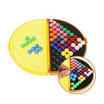 Classique 3D Puzzle Pyramide Plaque 178 Défis IQ Perle Esprit Logique Jeu Cerveau Intellectuel| Puzzles