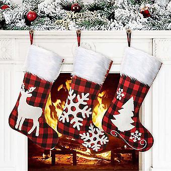 Weihnachtsstrumpf Weihnachtsdeko Weihnachtsgeschenktasche Weihnachts Nikolausstiefel