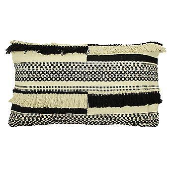 Paoletti Bohemian 770 Fringed Cotton Cushion Cover